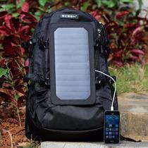 Mochila,bolso Solar Eceen®, Cargador Solar Mochila Con 7 Pan