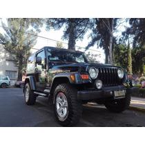 Tj Wrangler, Icono De La Jeep ¡portentoso¡