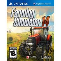 Farming Simulator 14 Ps Vita Nuevo Citygame
