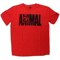 Red Universal Nutrition Animal El Icónico De La Camiseta L