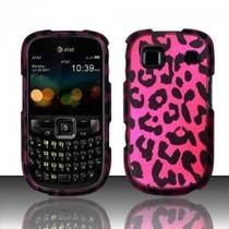 Para Zte Z431 (at & T) De Goma Cubierta Del Diseño - Pink Le