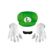 Disfraz Inc - Kit De Accesorios Luigi Niño