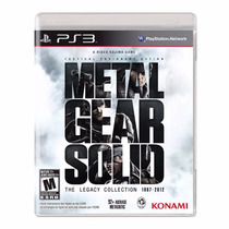 ¡¡ Metal Gear Solid: The Legacy Collection Para Ps3 En Wg !!