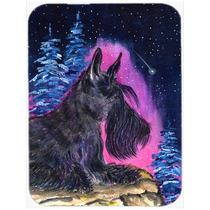 Junta De Corte Noche Estrellada Scottish Terrier De Cristal
