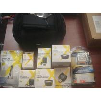 Paquete Lentes 52mm Y Accesorios Para Camaras Foto Y Video.