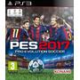 Pro Evolution Soccer 2017 Pes Ps3 Completo En Español