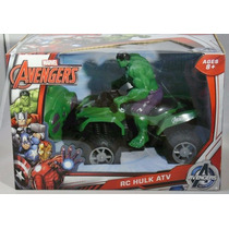 Moto De Control Marvel Avengers Radio Control (rc) Hulk Atv