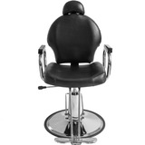Silla Hidraulica Reclinable Estetica Salon Barberia Spa