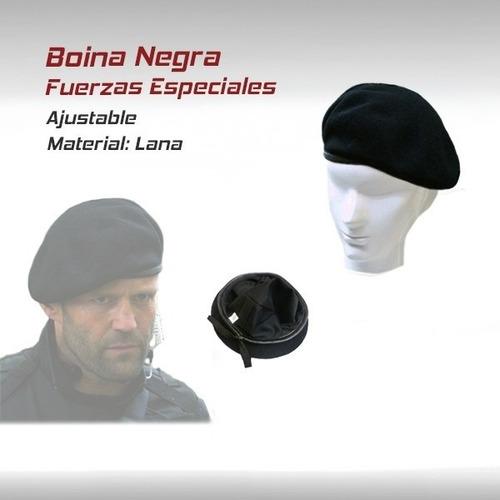f05a275d93676 Boina Gorra Fuerzas Especiales Militar Paintball Gotcha M16