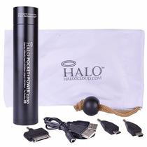 Power Bank Portatil 2200mah De Goma Celular Ipod Iphone Halo