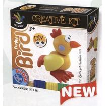 Modelado De Arcilla - D-juguetes Creativo Funky Pájaro Kit