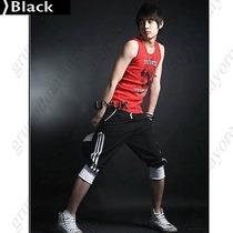 Pants 3/4 Moda Oriental Color Negro Talla S,m,l 28-34 Oferta