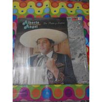 Alberto Angel, El Cuervo Lp De Puño Y Letra 1982
