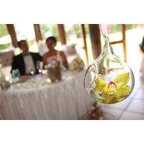 Esfera De Cristal Colgante - Decoración Vintage