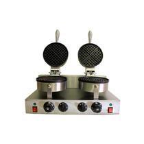 Maquina De Hacer Waffles Doble Comercial Envio Gratis!!