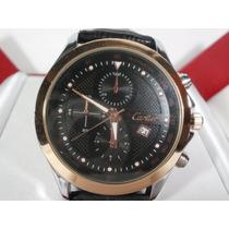Hermoso Y Moderno Reloj Cartier Con Fechador, De Caballero