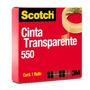 Cinta Adhesiva Transparente 550 Scotch 3m