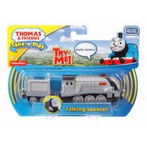 Thomas Y Amigos Tren Spencer Parlante Ingles Luz