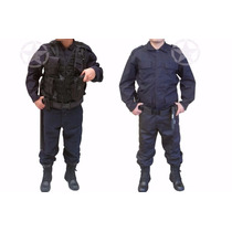 Uniforme Policíaco,norma Subsemun,equipamos Municipios,azul