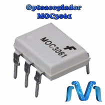 Moc3061 Optoacoplador Optoaislador Triac