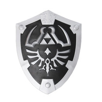 Escudo Zelda Real Hylian Shield Legend Of Link Ocarina Negro