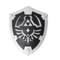 Escudo Zelda Real Hylian Shield Legend Of Link Oscuro Negro