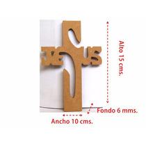 Cruz Jesus Grande Mdf, Recuerdo, Evento Social, Fiestas