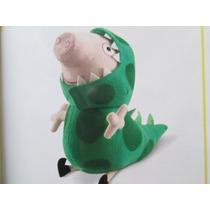 Peppa Pig Peluche George Dinosaurio Con Sonido!