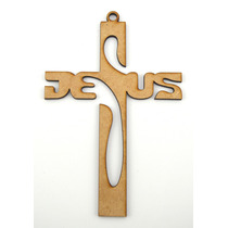 Cruz Jesus 25cm Recuerdo Bautizo, Primera Comunion, Regalo