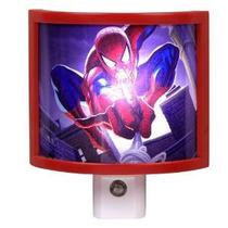 Luz De La Noche Del Led Amertac M9103 Marvel Spider-man, Roj