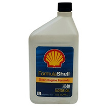 Aceite Motor Gasolina Shell 40w.