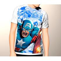 Camiseta Capitan America,civil War,vengadors,avengers