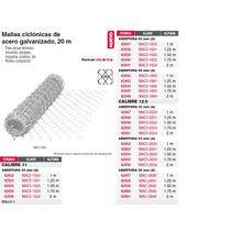 Malla Ciclonica 55x55 Cal 11 2x20m