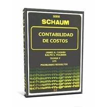 Libro: Contabilidad De Costos Serie Schaum Pdf