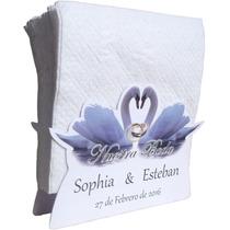 Servilleteros Personalizados Para Toda Ocasión Boda*bautizo.