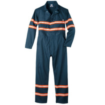 Dickies Vv601 Overol Con Reflejantes Algodón Overall Coveral