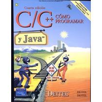 Libro: Cómo Programas En C/c++ Y Java 4 Edición Pdf