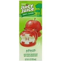 Juicy Juice 100% Jugo De Manzana 8-count Boxes 6.75 Onzas (p