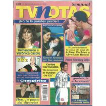 Revista Tv Notas Núm.160 De Fecha Noviembre 30 Del 1999.