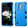 Funda Case Para Lg Q7 / Lg K7 Uso Rudo Doble Protector Azul