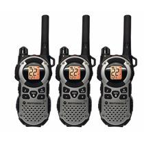 Paquete 3 Radios Motorola Mt352r Frs Weatherproof Distancia
