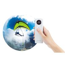 Video Camara Ricoh Theta Imagen 360 Grados Panorama Esferico