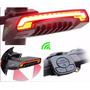 Lampara Led Bicicleta Luces Direccionales Ctr. Remoto Laser