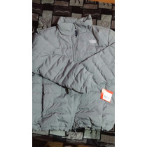 Chamarra The North Face Original Remate Color Gris Talla L