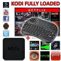 Android Tv Mxq Smart Tv 4 Núcleos 8 Gb Más Teclado Gratis!!!