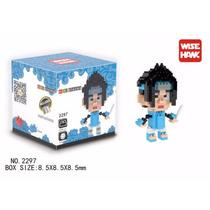 Figura Coleccionable Mini Blocks Anime Naruto Uchiha Sasuke