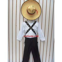 Disfraz Emiliano Zapata Pantalon Camisa Revolucion Mex Niños