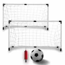 Porterías Rebotador Para Fútbol Soccer Entrenamiento Portati