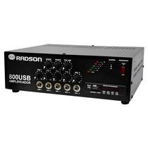 800usb Amplificador De 240 Watts Pmpo