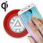 Cargador Inalambrico Qi Iron Man Samsung Galaxy S6